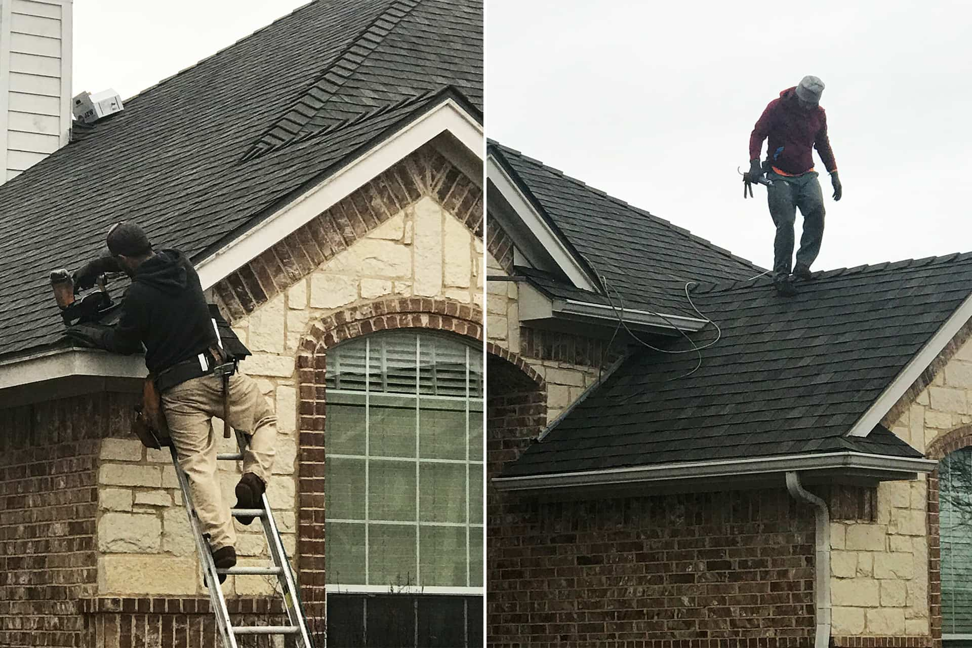 mansfield roofing project
