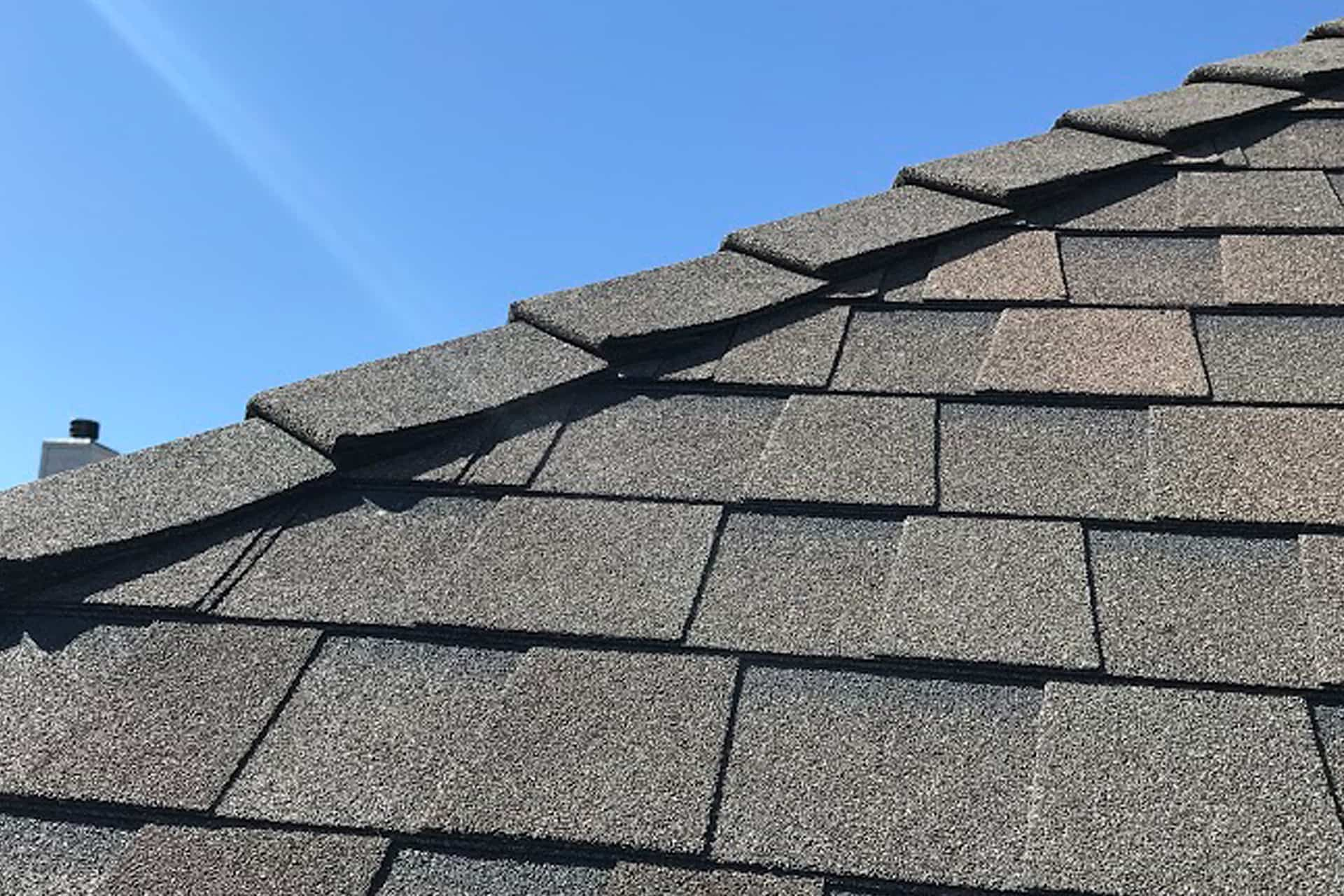Ramos roofing project ridge detail
